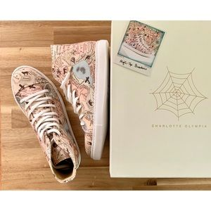 New Charlotte Olympia Map High-top Sneaker